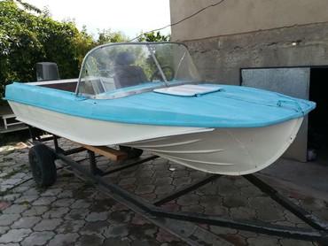 Водный транспорт - Кыргызстан: Продаю катер Казанка 5м в отличном состоянии. Мощность двигателя Yama