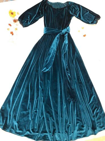 платья из велюра в Кыргызстан: Платье велюр