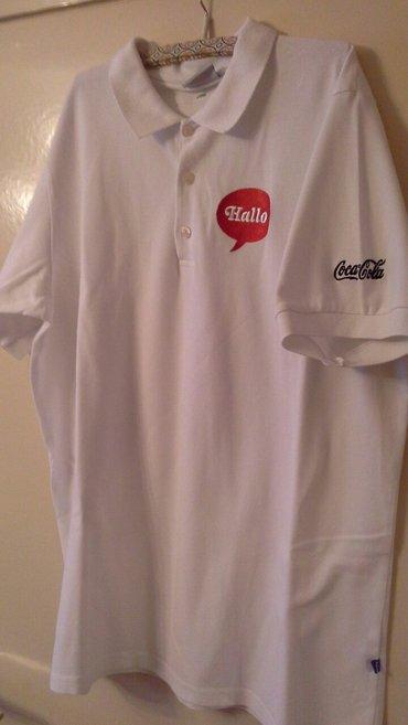 Muške pamučne majice i dukserice, 100% pamuk, bele M L i XL. - Kragujevac