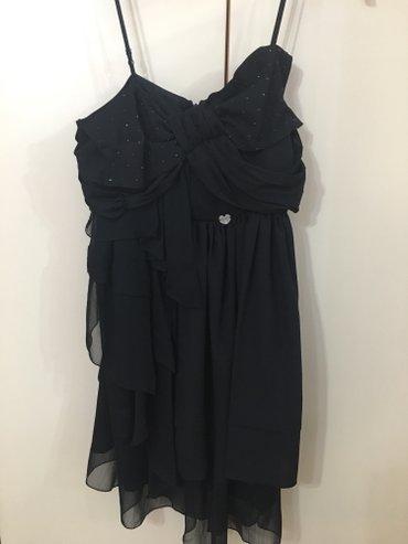 Liu Jo original crna haljinica,jednom nosena,bez ostecenja. Broj 38 a - Kragujevac