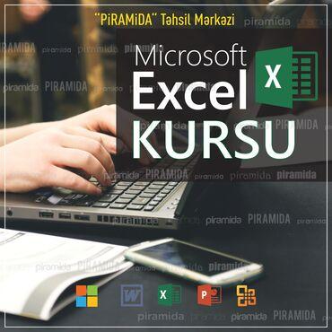 excel proqrami - Azərbaycan: Kompüter kursları | Microsoft Windows, Microsoft Office | Qrup
