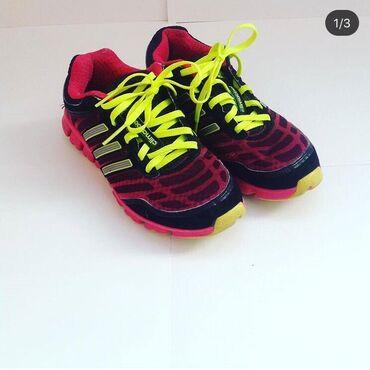 adidas ace в Кыргызстан: Кроссовки Adidas оригинал (бу) Размер: американский 3, 22 см по