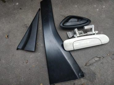 Продаю ручки и другие детали от двери хонда фит, правая задняя дверь в Бишкек