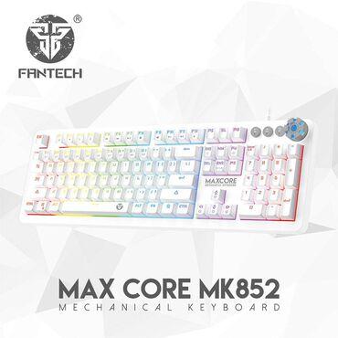 Klaviaturalar Azərbaycanda: FANTECH MK852 MAXCORE SPACE EDITION WHITE mexanik oyun