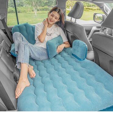 Надувной Матрас в машину на заднее сиденье раздельный-  + Доставка по