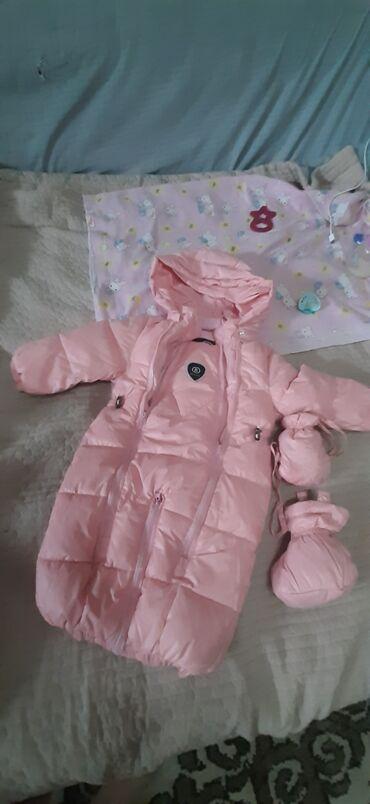 чехол для одежды в Кыргызстан: Комбез для девочки почти новый, одевали раза три. Так как пришёл в