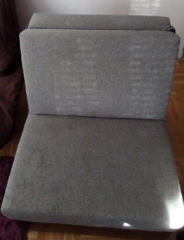 Fotelje | Srbija: Fotelja na rasklapanje. Dimenzije: 103 x 82 x 87 cm. Dimenzije