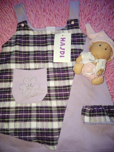 Hajdi mala haljinica slatka za bebe devojčice 80 cm. - Nis