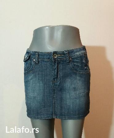 Teksas suknjica,uvek aktuelna i u trendu... - Beograd - slika 2