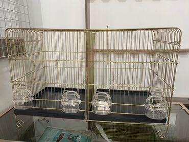 8140 elan: Arakesmeli qefes.uzunu 65 sm, eni 32 sm,hundurluk 40 sm.Yan terefden