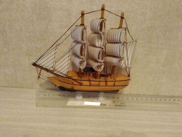 Кораблик сувенир. хорошо подходит для офиса. размер 19×19 см