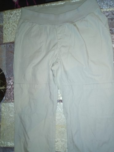 Pantalone sa dzepicima na gumu. Velicina M, mada meni deluju vece, - Sid