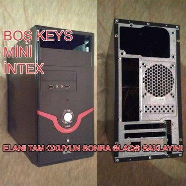 Bakı şəhərində Boş Keys Intex Mini. Səliqəlidir. Ön hissədə əlavə 2 USB və