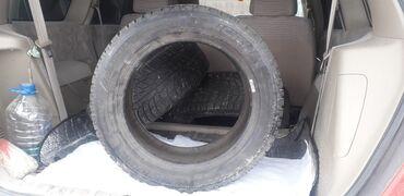 шины 205 55 r16 в Кыргызстан: Michelun 3 штуки зимних резин на шипах  Протектора 205/55/R16