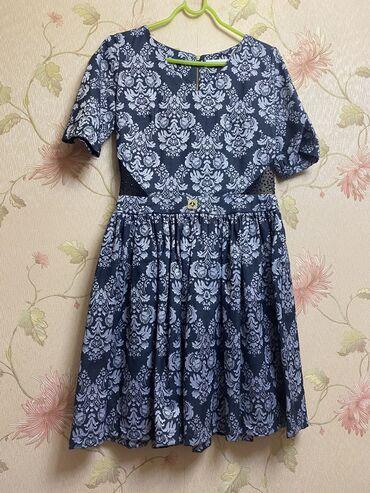 Платья - Лебединовка: Турецкое короткое платье 38 размер