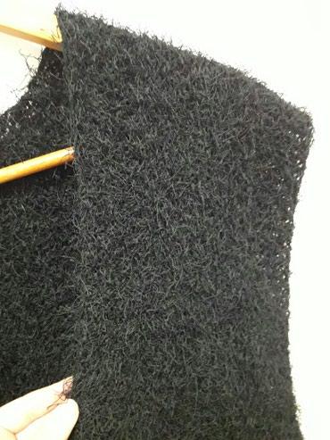 Ženski crni čupavi prsluk - Novi Pazar
