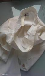 Zenske pantalone, vel. 42, nove, bele, iz nemacke, sirina u struku 36, - Belgrade