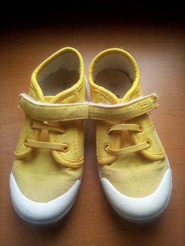 детские ажурные кеды для девочки в Азербайджан: Обувь для девочки, в отличном состоянии, цвет желтые размер 27.на