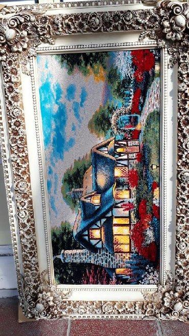 Xalca toxunuwlu tablo eni 82 sm, uzunluqu 133 sm, metrolara в Bakı