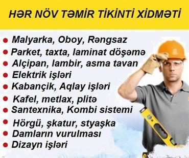 Bakı şəhərində Tikinti və təmir