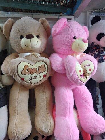 игрушки-littlest-pet-shop-литл-пет-шоп в Кыргызстан: Мишка размеры 110 смМишки,мягкие игрушки, плюшевые игрушки, подарки