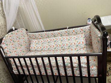Новая детская кроватка. Не пользовались. Покупали в Винни Пухе, есть ч