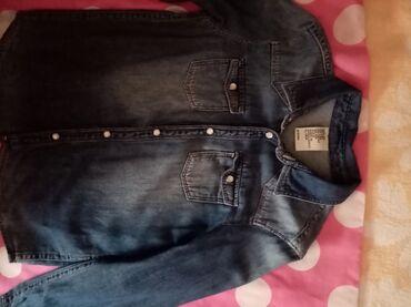 Dečiji Topići I Majice | Nova Pazova: Prelepa teksas košulja H&M vel 128 obučena par puta bez ikakvih tr