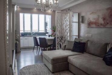 Продажа квартир - Тех паспорт - Бишкек: 104 серия, 4 комнаты, 65 кв. м Теплый пол, Бронированные двери, Дизайнерский ремонт