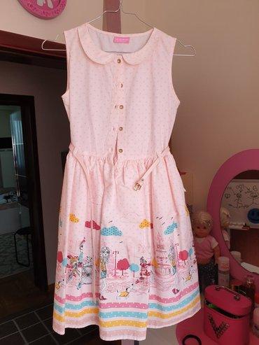 Nenošena haljinica,skinuta etiketa ali nije nošena.Ima i