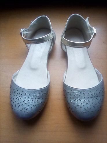 детская мембранная обувь в Азербайджан: Детская обувь на девочку возраст 6-7 лет.Размер 29.Цветсерый Состоянии