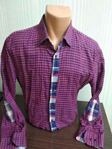 Мужская рубашка! Размер: 50-52 в Бишкек