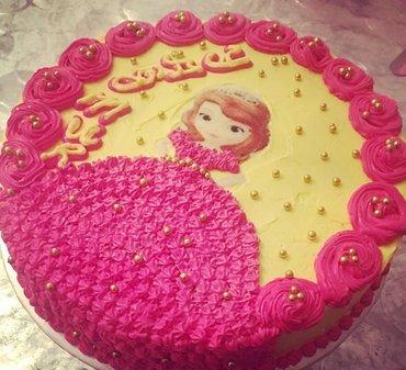 Sumqayıt şəhərində Barbie tort