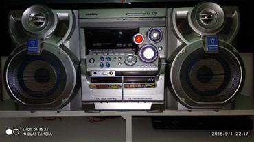 Bakı şəhərində Samsung musiqi mərkəzi