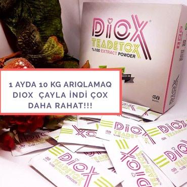 Bakı şəhərində Diox çay ilə arıqlamağa başlayın!!! 1 ayda ideal kiloya sahib