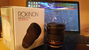 Bakı şəhərində Rokinon 85mm f/1.4 AS IF UMC Lens for Canon EF with AE ChipНовый , п
