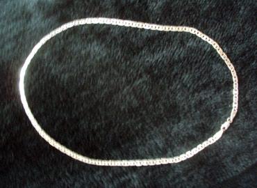 Продам серебряную мужскую цепочку проба 925, длина 45 см. в Бишкек