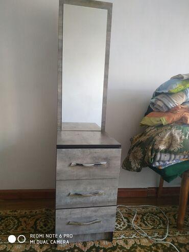 Другая мебель - Кыргызстан: Продаю новое зеркало + шкафчик для косметики и т.д