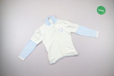 Дитячий светр у смужку Zi-yun, вік 4-5 р., зріст 110 см    Довжина: 41