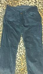 Nove, nenosene somotne pantalone. Model poput farmerica, odlicno - Knjazevac
