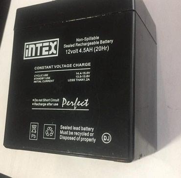 Аккумуляторная батарея intex 12v 4.5ah в Бишкек