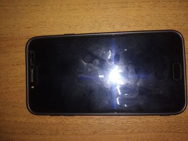 samsung galaxy c7 в Кыргызстан: Б/у Samsung Galaxy J4 2018 16 ГБ Черный