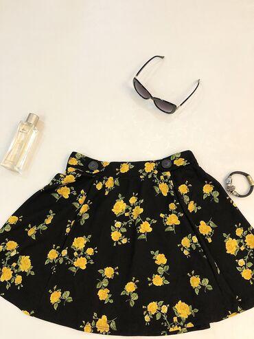 Яркие короткие юбки на лето от terranova! Новые !Две юбки за указанную