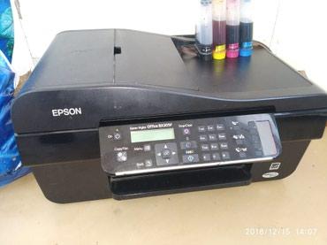Цветной принтер 4/1 Сканер копия печать факс Epson BX305F в Бишкек