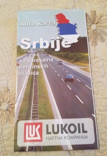 Auto karta Srbije - Belgrade