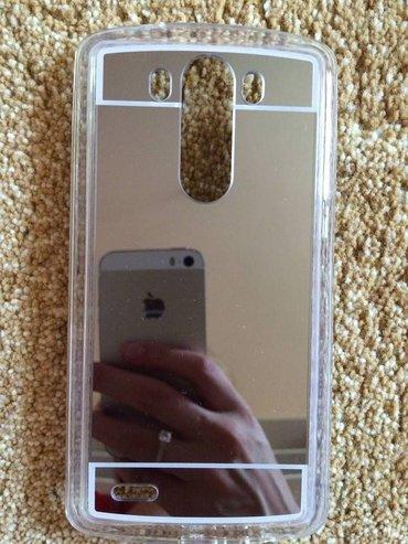 Mobilni telefoni - Knjazevac: Srebrna ogledalo maska za lg g3prodajem masku za lg g3 mobilni telefon