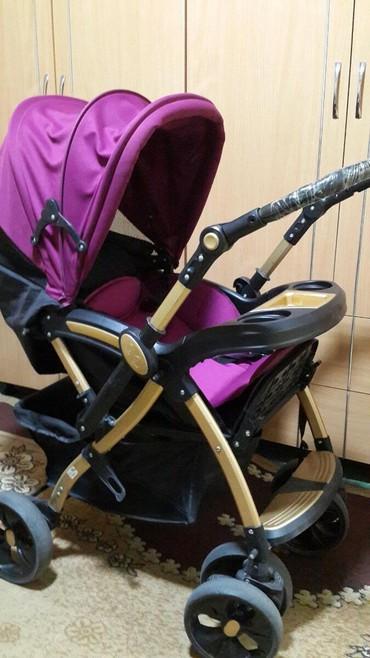 детские коляски для погодок в Кыргызстан: Коляска детск. б/у