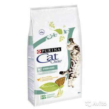 """стерилизовать кошку в Кыргызстан: CAT CHOW """"STERILISED"""" сухой корм для стерилизованных кошек"""