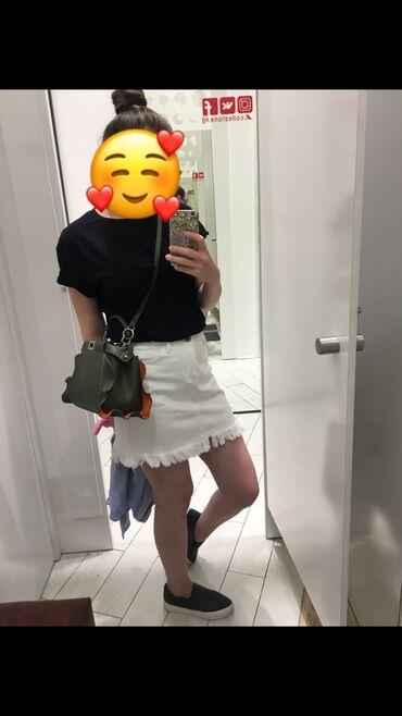 Джинсовая юбка, размер XS S