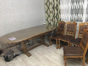 Стол стульями Германия в отличном состоянии четыре стулья. Стол длина