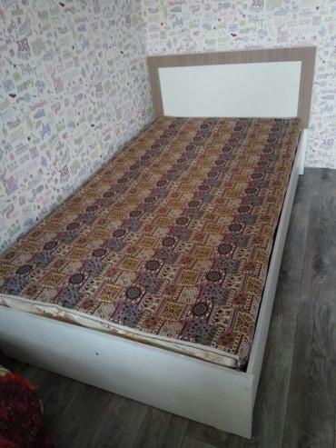 Продается кровать, с металлическим каркасом, в идеальном состоянии!!!
